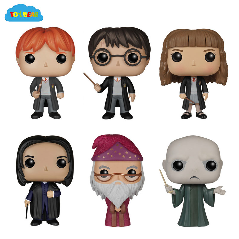 ToyBear toys hobbies Funko Pop movie Harry Potter Lord Voldemorttoys action figures 10 cm PVC anime figure(China (Mainland))