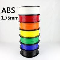 3D Printer Filament ABS Plastic 1.75mm 1kg 1.75 MM 7 Colors Acrylonitrile Butadiene Styrene