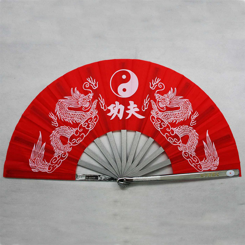Store stainless steel iron fan tai chi kung fu fan martial arts (ssangyong, kung fu)