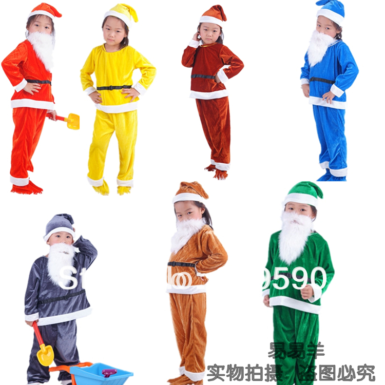 7 dwarfs costumes for kids