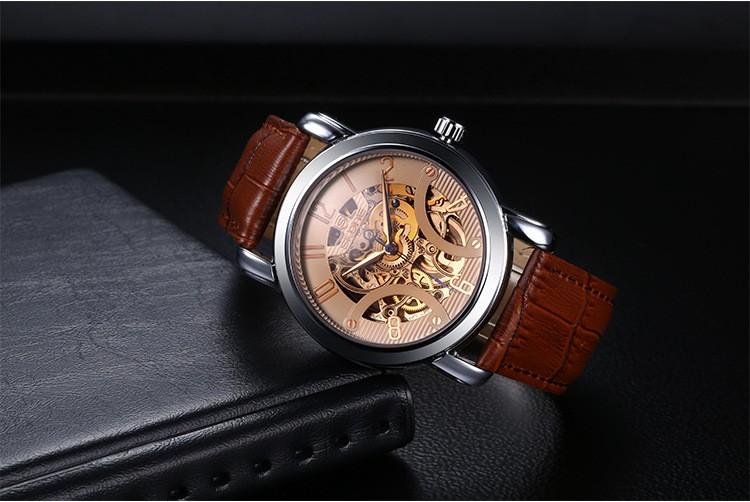 Мужские часы лучший бренд класса люкс SKONE новая мода бизнес мужчины часы механические часы из нержавеющей стали ремешок reloj hombre