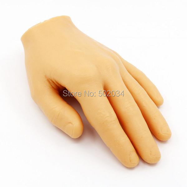 USA Dispatch Pro Fake Skin Tattoo Practice Hand Synthetic Material Similar to Human Hands Tattoo Accessory supply