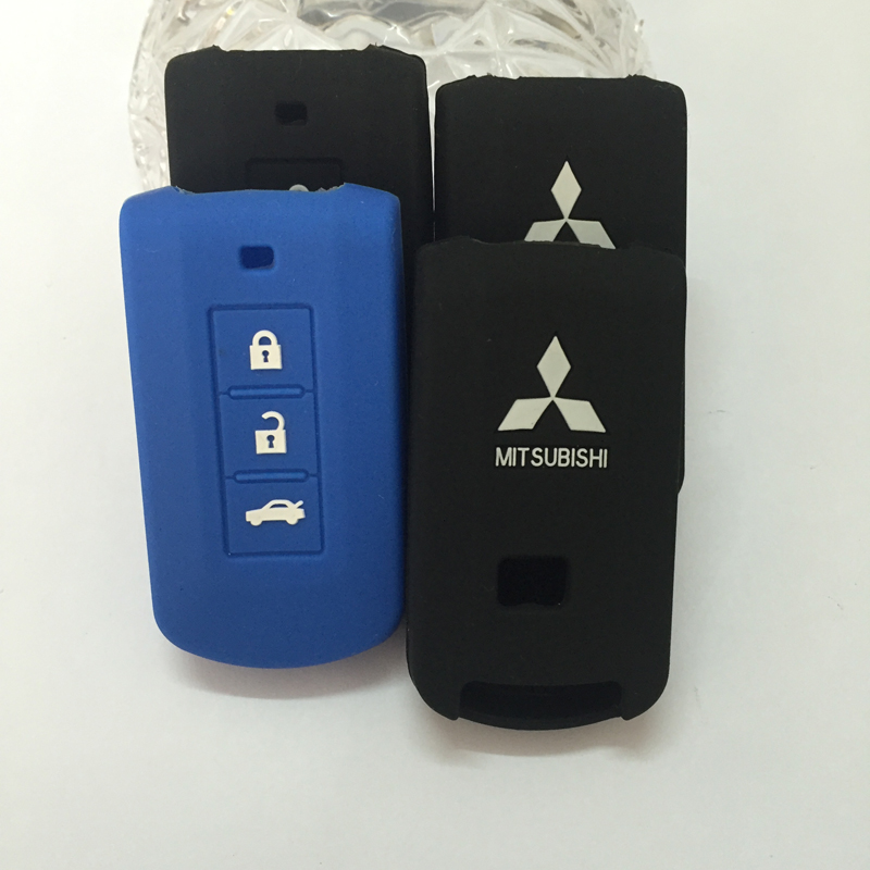 Smart car key case for MITSUBISHI OUTLANDER Lancer EX ASX colt Grandis Pajero sport Remote key
