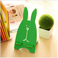 T jailbreak rabbit mobile phone bracket Korean wooden lazy bed phone holder charging bracket for iphone