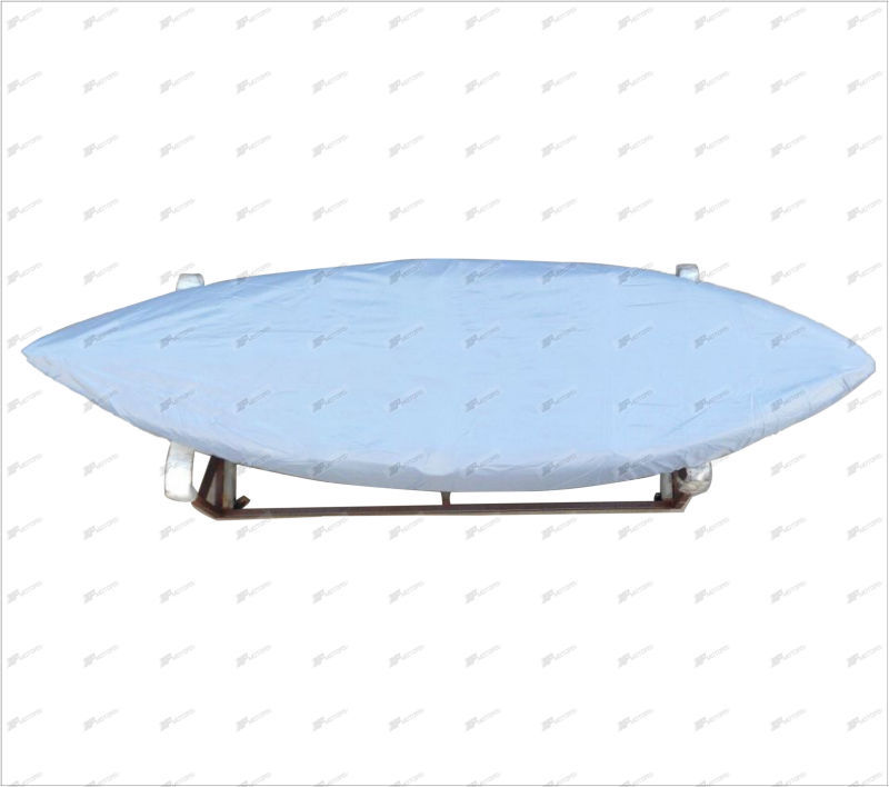 Grey Waterproof Tralierable Canoe Kayak Marine Boat Cover up to 2.9m(China (Mainland))