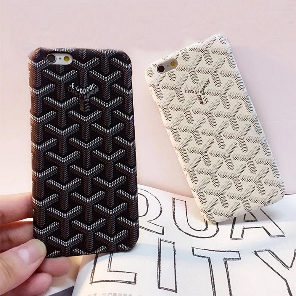 Brand Europe France Paris Goyar Leather Case Cover For iPhone 6 6S 6 Plus Exquisite Fashion Flip Phone Case For iphone 7 Plus(China (Mainland))