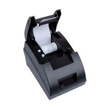 Free shipping New mini 58mm Thermal Receipt Printer Ticket POS 58 Thermal Printer USB Interface Restaurant Bill Printer(China (Mainland))