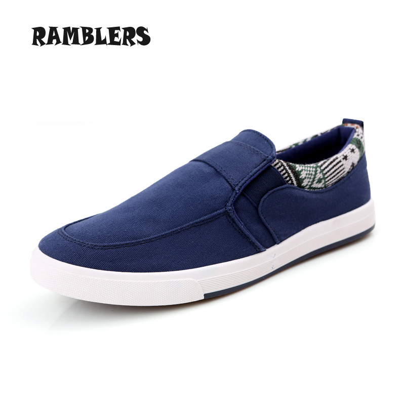 Mens Canvas Shoes New 2016 Spring Summer Breathable Shoes Men Casual Flats Slip On Loafers Lightweight Footwear Zapatos Hombre<br><br>Aliexpress