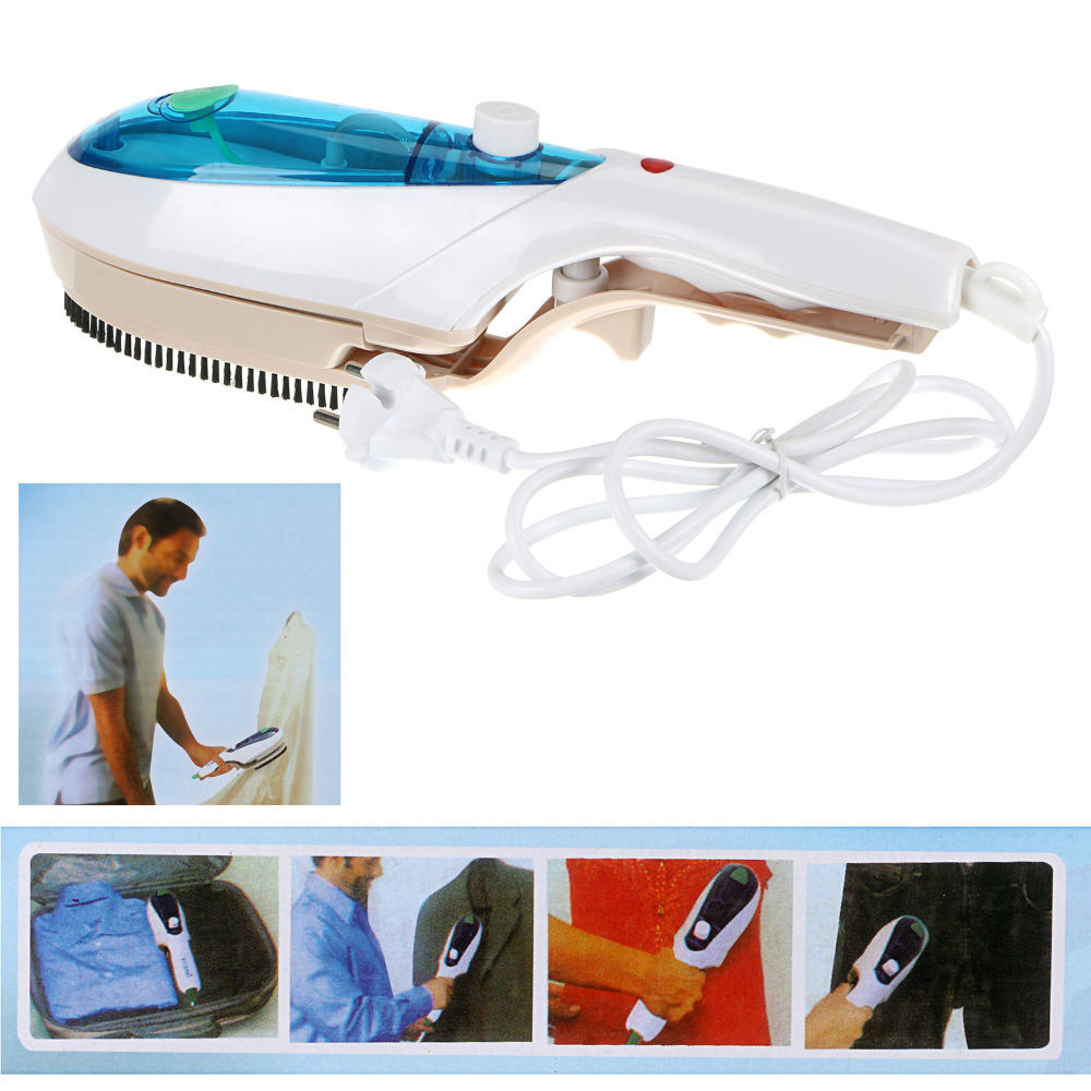 2016 Europe hot design! multi fucntional portable Portable Iron Pleating Steam Brush Steamer Fabric Clothes Draperies wrinkles(China (Mainland))