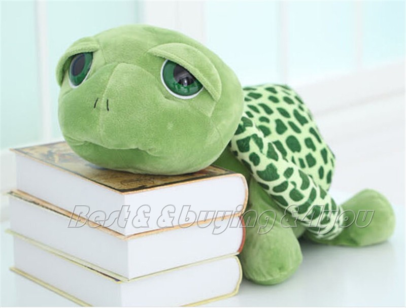 1x 40CM 15inch Stuffed Animal Lovely Tortoise Turtle Plush Doll Toy Pillow Free shipping (70709003_40)(China (Mainland))