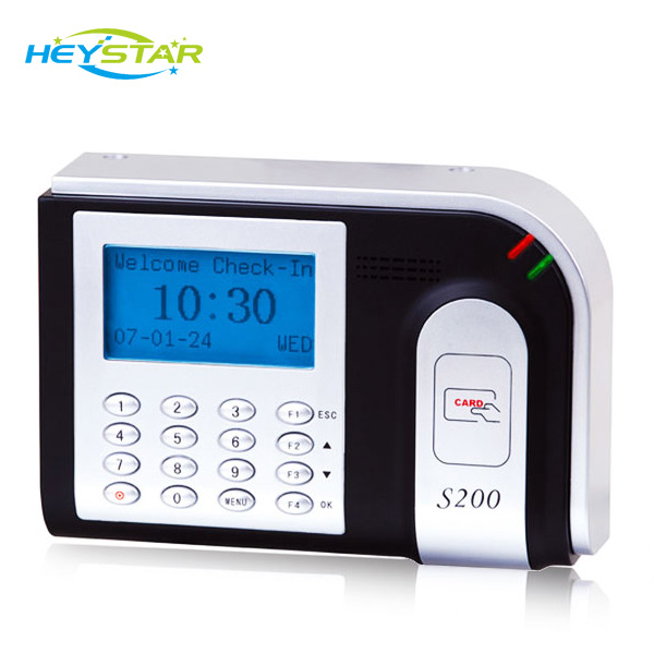 RFID Timing Systems Punch Card Attendance Machine /Card Swiping Machine HF-S200