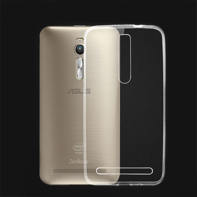 Transparent New Protector Case Asus Zenfone 2 ze550ml TPU back cover + ze551ml phone  -  zhuozhang electronic commerce Co. Ltd Store store