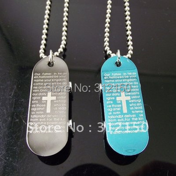 10pcs Stainless Steel Skateboard Necklace Pendant Stainless Steel Cross Pendant Necklace Fishbone Necklace Free Shipping
