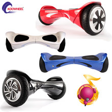 Koowheel Balance Wheel Electric Skateboard Hooverboard Skywalker Board with Bluetooth Red Patineta Electrica Scooter Freestyle(China (Mainland))