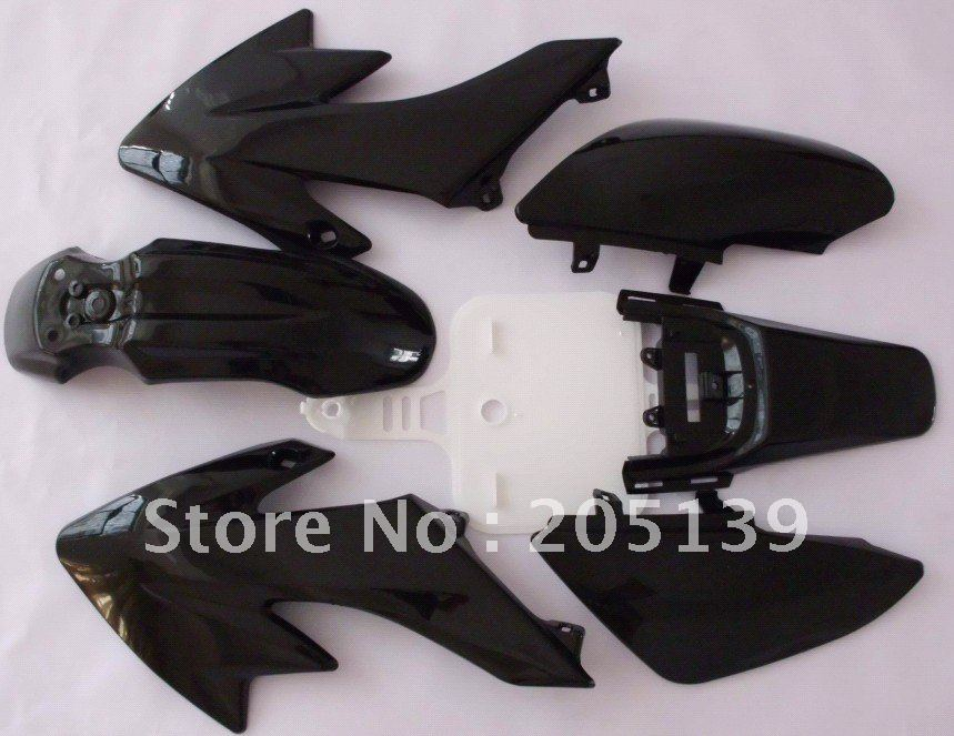 motorcycle motocross Dirt PIT bike parts full plastic for honda MOTO XR50 CRF50(China (Mainland))