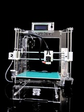 3D printer kit Dual Extruder double color print Cyclops HotEnd LCD 8 mm acrylic High Precision