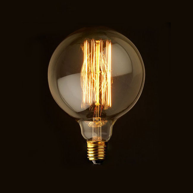 G80/G95 Vintage Edison Bulb Light Incandescent Bulbs E27 40W Home Decoration Light bulb Antique Filament Bulbs110V/220V Lighting(China (Mainland))