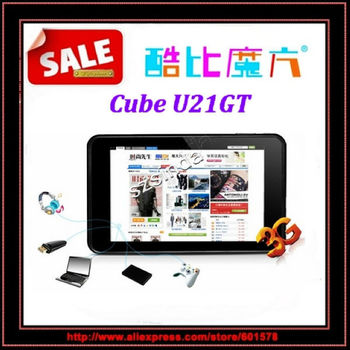beiyong---Free shipping Original Cube U21GT dual core tablet 7inch IPS Screen Android4.1 RK3066 1.6Ghz 16G Tablet PC / Anna