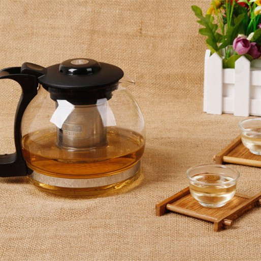 700ML/ 1200ML/ 1600ML glass coffee & tea pot + 2 cups FREE!!! Big size glass kettle in style of brief vogue, enjoy your leisure(China (Mainland))