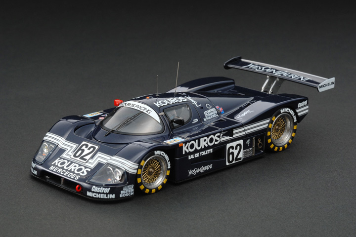 The limited edition HPI 1:43 C9 #8054 Sauber Mercedes C9 (#62) 1987 Le Mans there is only one thing(China (Mainland))