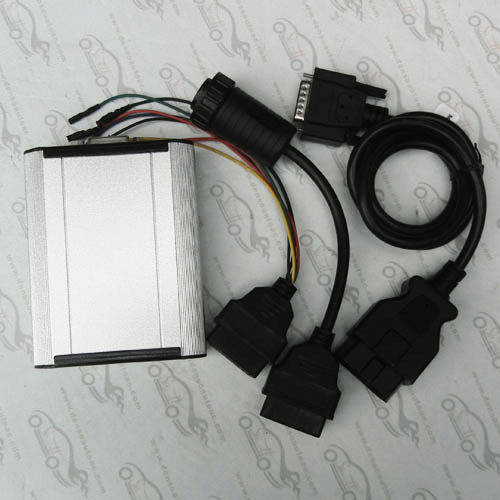 Fast delivery DHL Free Shipping Diesel Truck Diagnosis Tool Ecu fault code reader ECU reprogramming(China (Mainland))