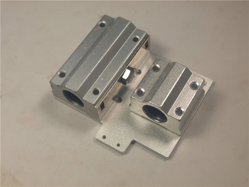 Blurolls Reprap Prusa i3 3D printer parts X axis Metal exturder carriage aluminum alloy for wade/titan extruder