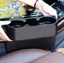 Universal Auto Vehicle Seat Gap Organizer Shelving Cup Holder Car Phone Mug Drink Holder High Quality(China (Mainland))