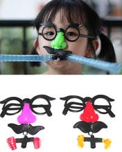 Супер смешно большой нос дует дракон очки сложно забавные игрушки новинка забавные гаджеты игрушки для день смеха детям подарки