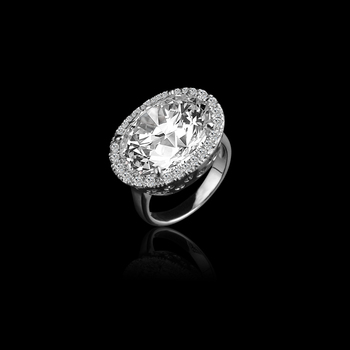 New Brand Design bestselling silver luxury zircon crystal platinum plated female rings wholesale ring jewelry for women bague
