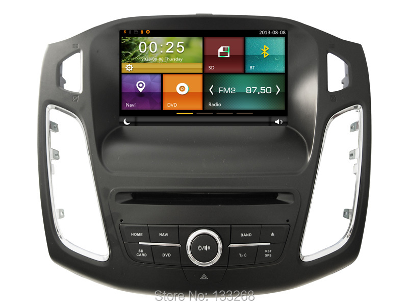 Cartouch(R) Car Radio Multimedia Player GPS Navigation for FORD FOCUS 2015 Car DVD TPMS iPhone BT A2DP Radio RDS CT-8031(China (Mainland))