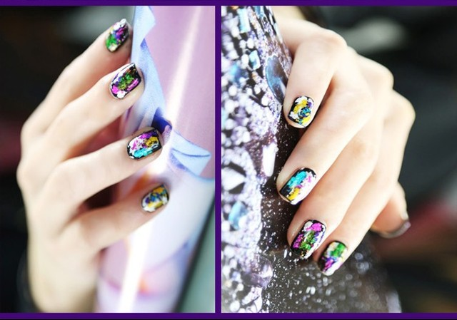 New Update 100rolls x 101colors Nail Art Foils Set Free Adhesive Acrylic Gel System Tips Decoration For Wholesale Free Shipping