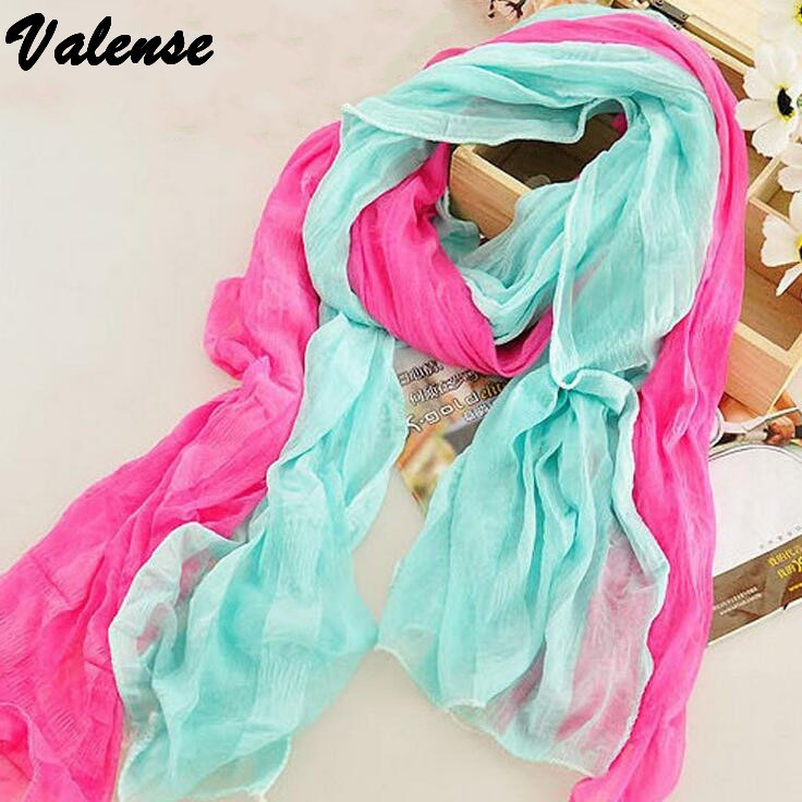 160*30cm 2015 Winter fashion women voile scarf Bohemian candy color warm soft scarves top quality shawl cape for female VX0735(China (Mainland))