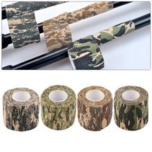 2016 Nouveau 1 Rouleau Hommes Armée Adhésif Camouflage Bande Furtif Wrap Chasse Extérieure livraison gratuite(China (Mainland))