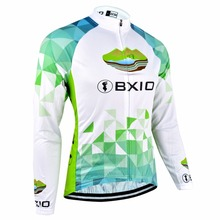 Buy BXIO Winter Thermal Fleece Bicycle Jerseys Warm Long Sleeves Pro Road Bike Clothing MTB Autumn Cycling Jersey Ropa Ciclismo 040J for $19.83 in AliExpress store