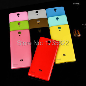 2015 NEW Xiaomi redmi note 4g original Back Battery Cover cheap phone cases for xiaomi red rice note 4G 5.5inch(China (Mainland))