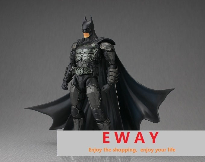 Hot ! high quality 17cm Justice batman action figure toys birthday super hero Christmas doll toy, with original box<br><br>Aliexpress