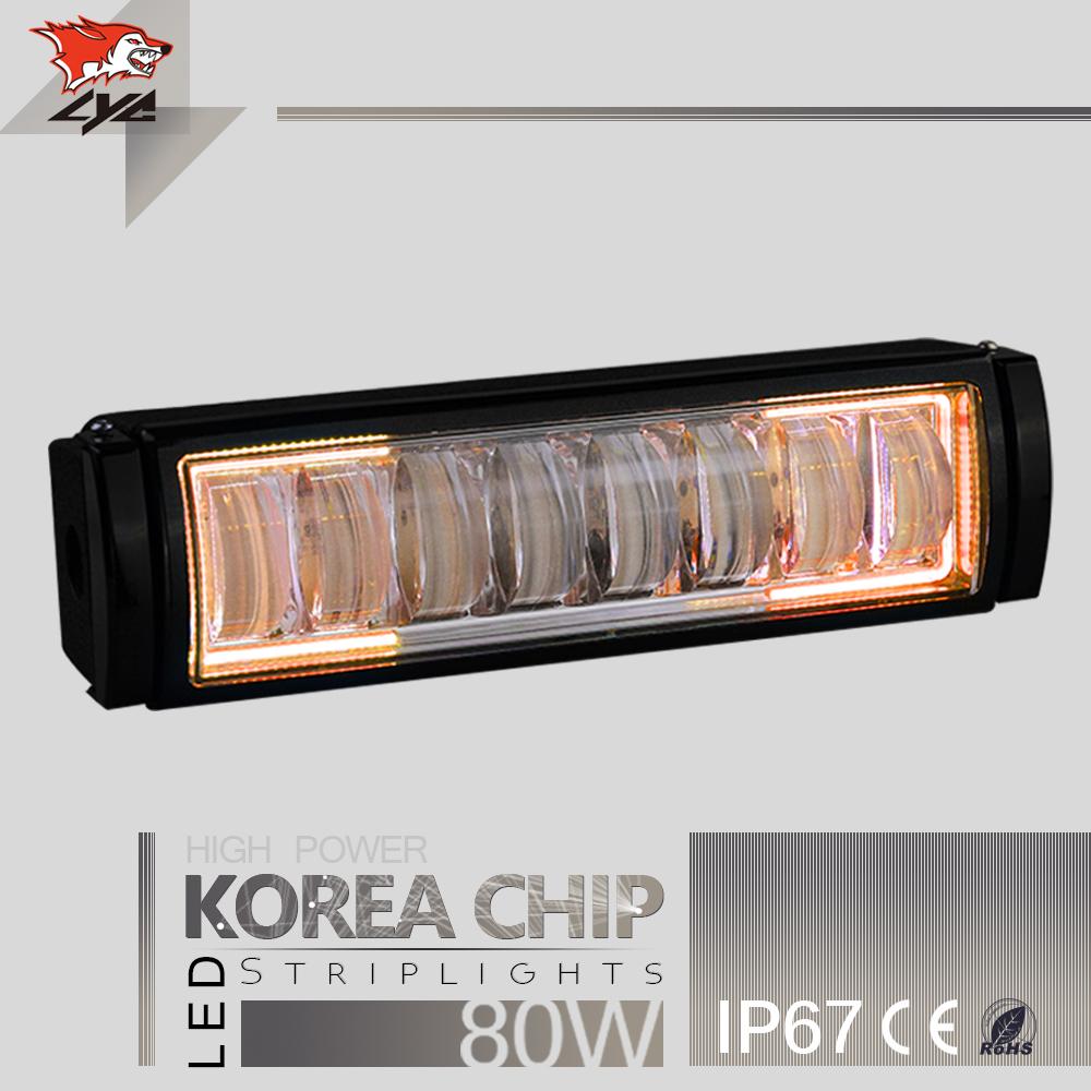 LYC Factory Direct Led Light Bar Led Bar Police Lighting Bar 12v 3000K\6000K 12V-24V DC Daytime Running Headlamp For Hummer(China (Mainland))
