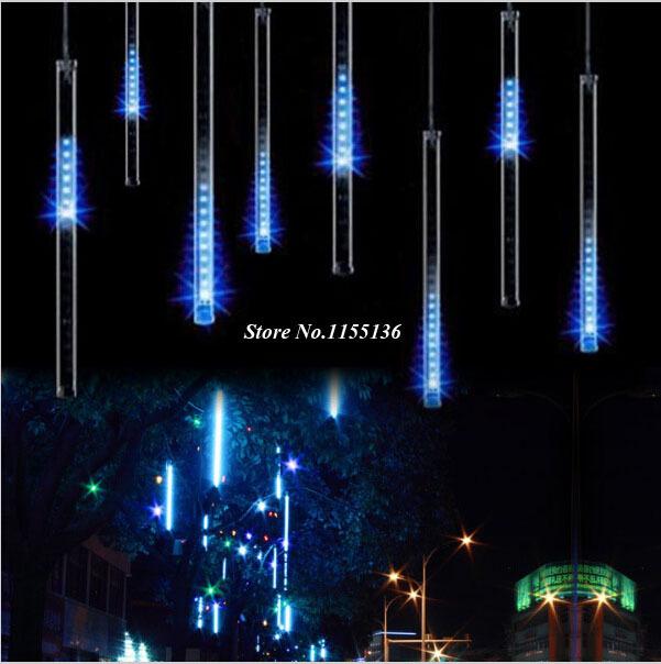 50CM 8pcs/set LED Meteor Lights Led Lamp Lights Flashing