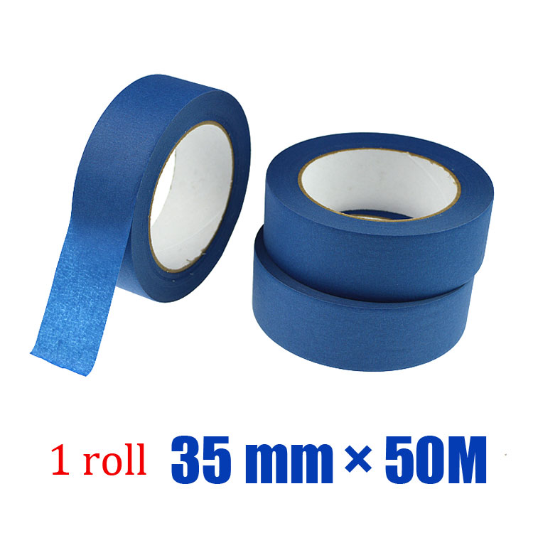 1roll * 35mm * 50m Best Masking Tape For Boat Paint Job(China (Mainland))