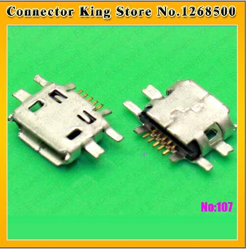 100pcs Mini Micro USB Jack Connector socket Data charging port,tail plug For Nokia N97 E52 E55 N8