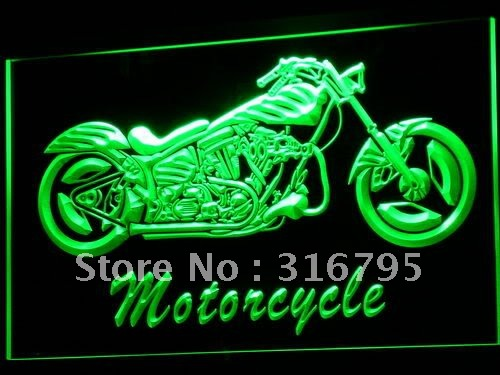 i642-g Motorcycle Bike Sales Services LED Neon Light Sign(China (Mainland))