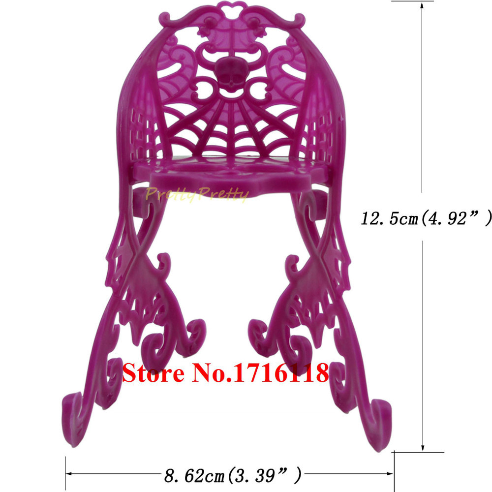 One Set Vogue Doll Furnishings toys For Monster Excessive Doll For Barbie Doll Sofa Chairs Desk Solar Umbrella Chairs Little one Finest Toy