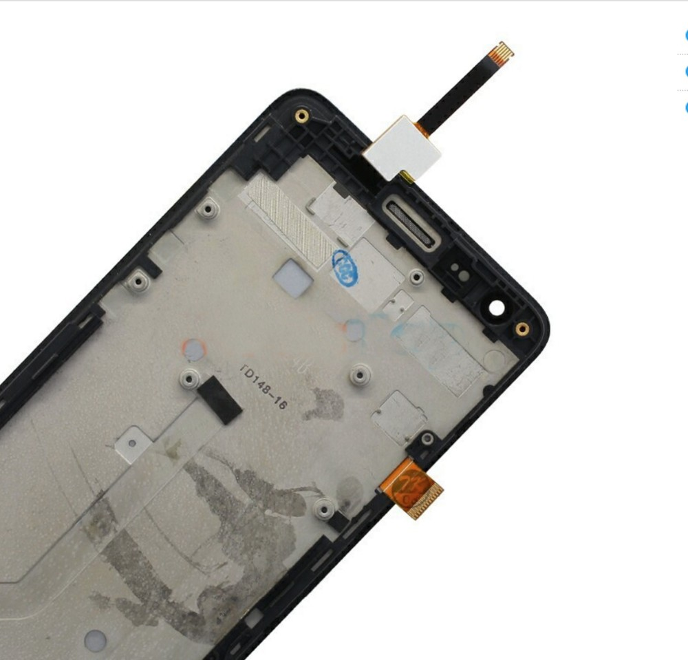 "Original LCD Display Digitizer + Frame for Xiaomi Redmi 2 Hongmi2 4.7"" Touch Screen Assembly Replacement Parts Tested & QC"
