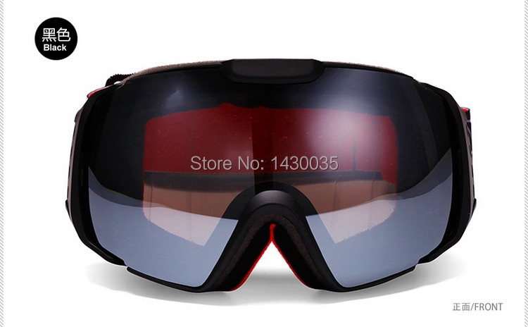 Unisex REVO Film Double Lens Anti-fog Skiing Eyewear Big Spherical Professional Ski Goggles Snowboarding Climbing Glasses(China (Mainland))