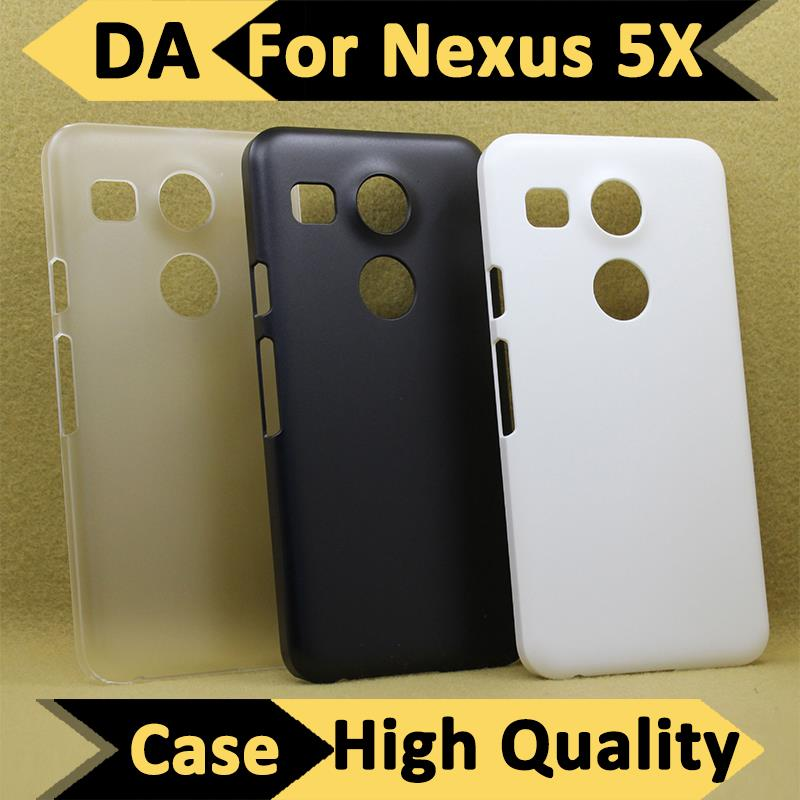 Slim Case For LG Nexus 5X Back Cover for LG Nexus 5 X For Google Nexus 5X Hard PC Transparent Case For LG Nexus 5X Back Shell