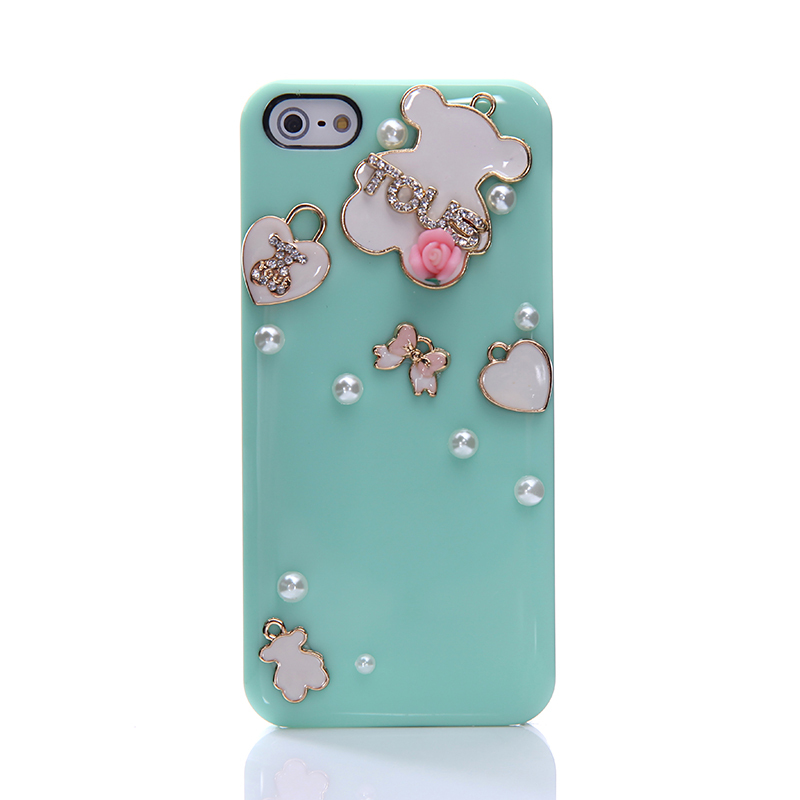 bear cell phone cover case for apple iphone 5 5s 4 4s. Black Bedroom Furniture Sets. Home Design Ideas