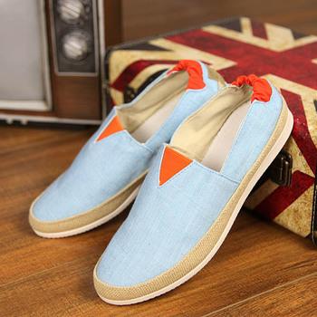 Мужчины кроссовки 2015 летние холст обувь дышащий мода кроссовки удобная открытый ...