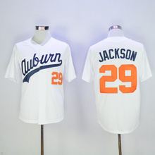 Stitched MENS BO JACKSON BASEBALL JERSEY COLOR WHITE SIZE M-3XL Best Quality(China (Mainland))