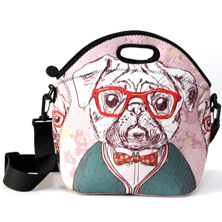 Neoprene Lunch Bag With Shoulder Strap 20