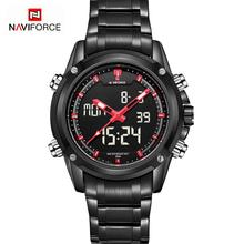 2016 Watches Men Fashion Sports Luxury Brand Men's Quartz Watch Military Full Steel LED Digital Wristwatch Relogio Masculino